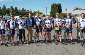 Company supports Team TR to ride M2M