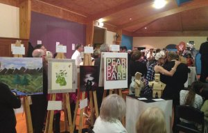 Pear Pair Pare Art Auction raises over $10,000